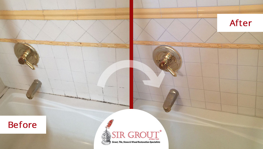 This Manhattan Homeowners Moldy Bathroom Recovered Its Original - Surface mold in bathroom