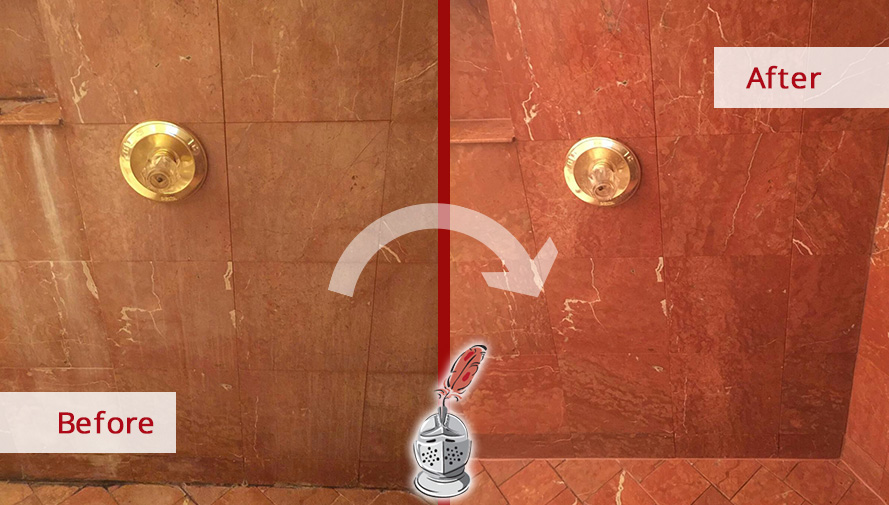 Before and After Picture of a Caulking Service in Manhattan, NY