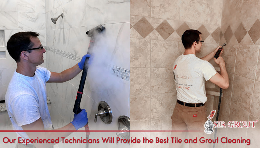 Our Experienced Technicians Will Provide the Best Tile and Grout Cleaning